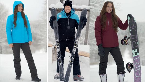 Правильная верхняя одежда для лыжников и сноубордистов должна сидеть свободно и не сковывать движений