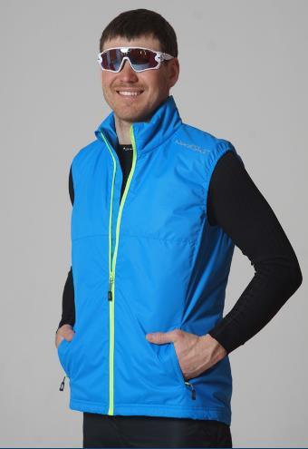 На фото – утепленные прогулочные куртки и жилет Nordski