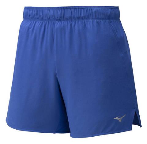 Mizuno Alpha 5.5 Short шорты для бега мужские синие
