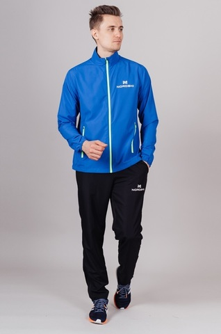 Nordski Motion куртка ветровка мужская Vasilek-Yellow