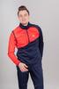 Nordski Premium лыжная куртка мужская blueberry-red - 1