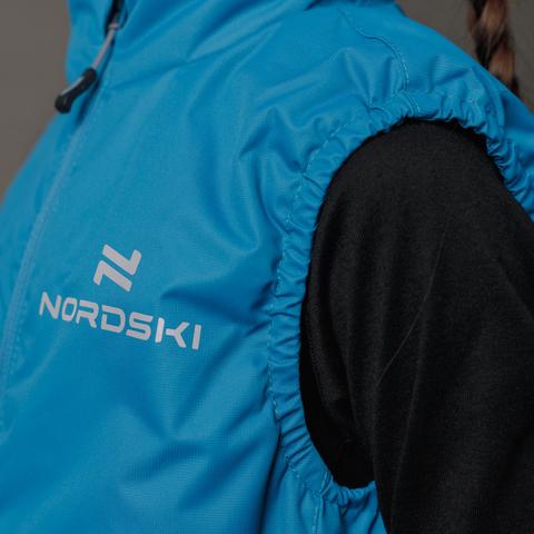 Nordski Kids Motion теплый жилет детский marine