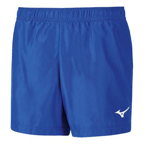 Беговые шорты женские Mizuno Premium Jpn Split голубые