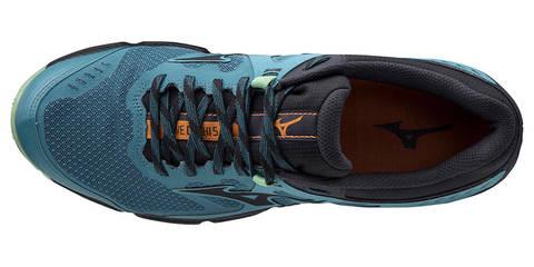 Mizuno Wave Daichi 5 GoreTex беговые кроссовки мужские черные-синие(РАСПРОДАЖА)