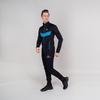 Nordski Base тренировочная куртка мужская black-blue - 2