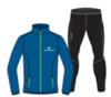 Nordski Motion Premium костюм для бега мужской Vasilek-Yellow - 1
