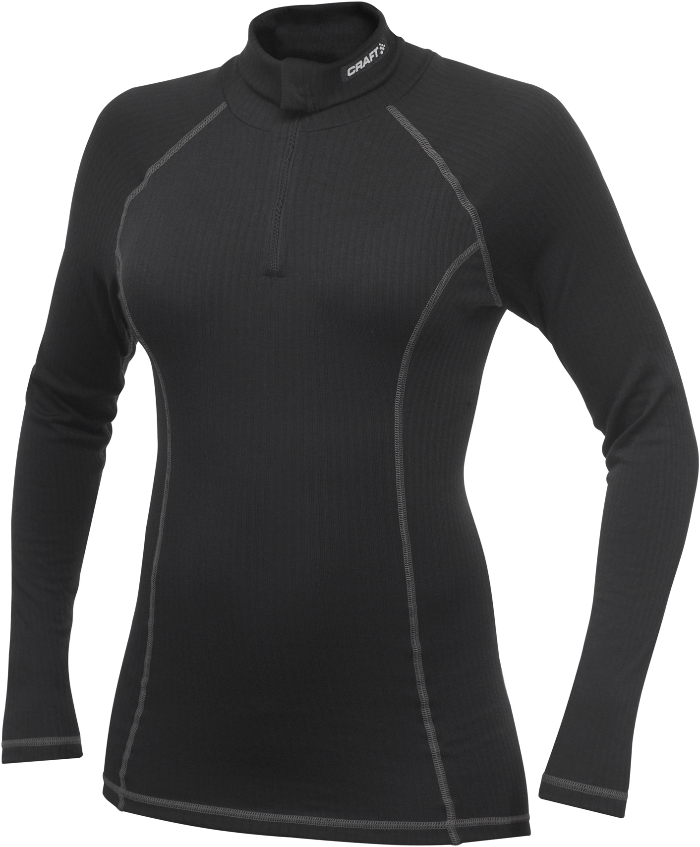 Термобелье Рубашка Craft Active Zip женская black