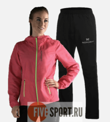 Nordski Run Motion костюм для бега женский Pink