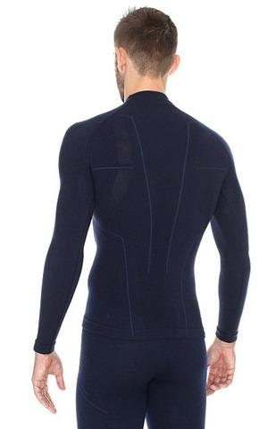 Термобелье Brubeck Wool Merino рубашка мужская синяя