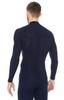 Термобелье Brubeck Wool Merino рубашка мужская синяя - 2