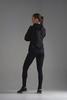 Nordski Premium Run костюм для бега женский black-orange - 2