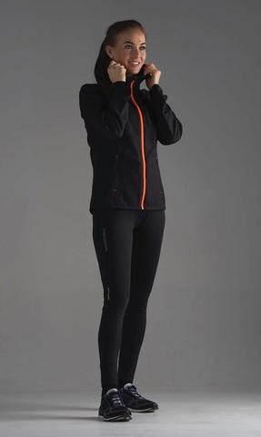 Nordski Premium Run костюм для бега женский black-orange