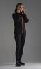 Nordski Premium Run костюм для бега женский black-orange - 1