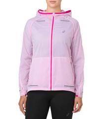 Asics Lite-Show куртка ветрозащитная женская розовая