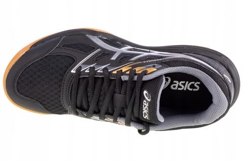 Asics Upcourt 4 Gs волейбольные кроссовки детские черные
