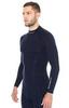 Термобелье Brubeck Wool Merino рубашка мужская синяя - 3