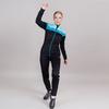 Nordski Drive лыжная куртка женская black-mint - 2