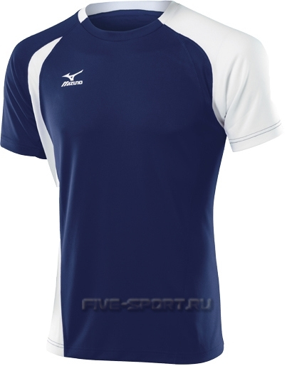 Mizuno Trade Top 351 футболка волейбольная мужская dark-blue