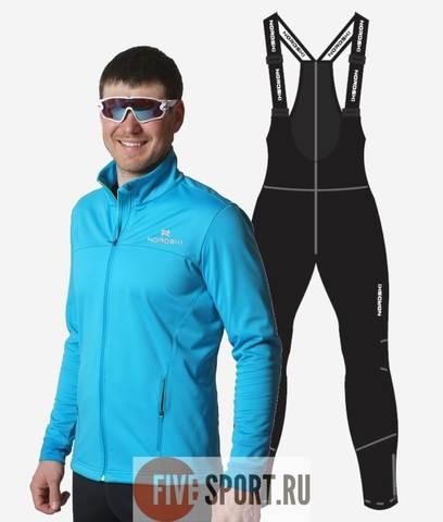 Nordski Jr Motion Active разминочный костюм детский breeze