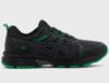 Asics Gel Venture 7 кроссовки-внедорожники для бега мужские черные-зеленые - 1