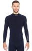 Термобелье Brubeck Wool Merino рубашка мужская синяя - 1