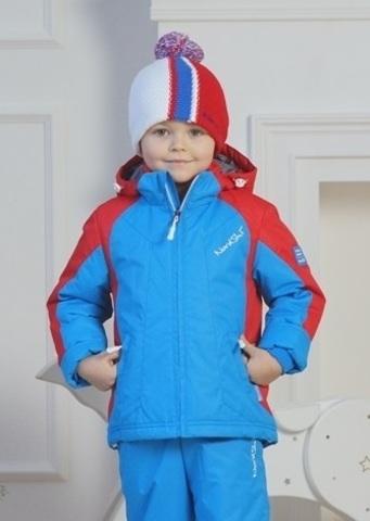 Nordski Kids National утепленная куртка детская blue