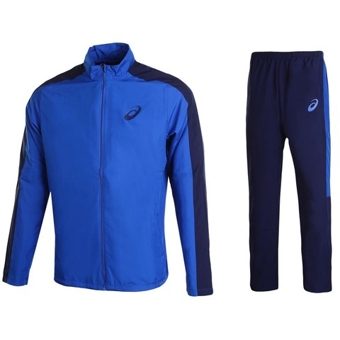 Asics Lined Suit спортивный костюм мужской синий
