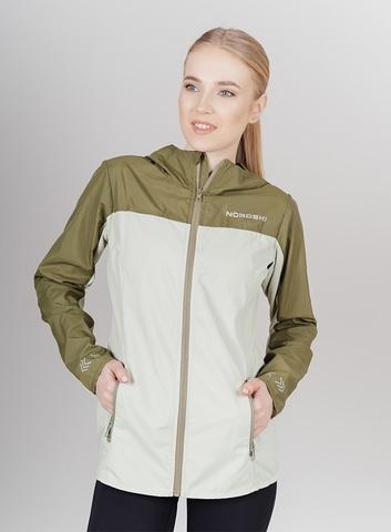 Nordski Rain ветровка беговая женская light green-olive