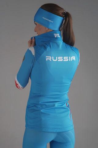 Nordski Elite RUS разминочный лыжный жилет женский