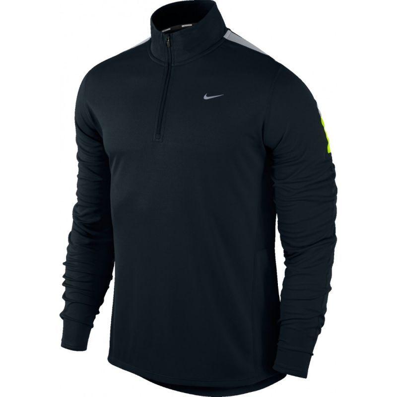 Футболка Nike Racer LS HZ /Рубашка беговая чёрная
