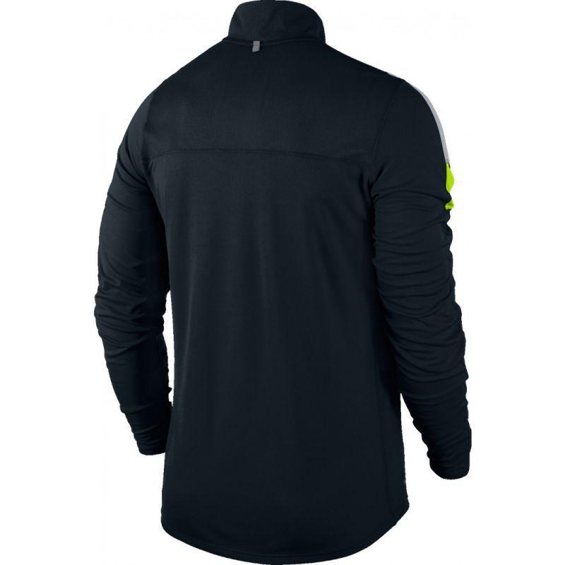 Футболка Nike Racer LS HZ /Рубашка беговая чёрная - 2