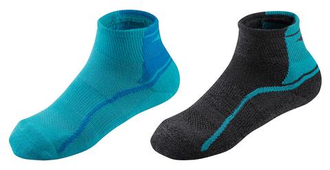 Mizuno Active Training Mid 2p комплект носков синие-черные