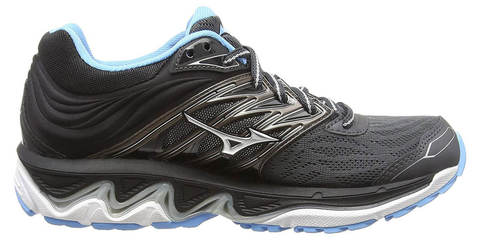 Mizuno Wave Paradox 5 кроссовки для бега женские черные