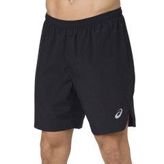 """Asics Silver 7"""" Short мужские шорты для бега черные"""