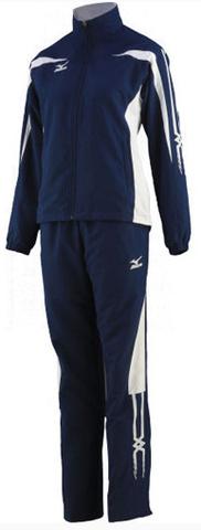 Спортивный костюм Mizuno Woven Track Suit (W) синий