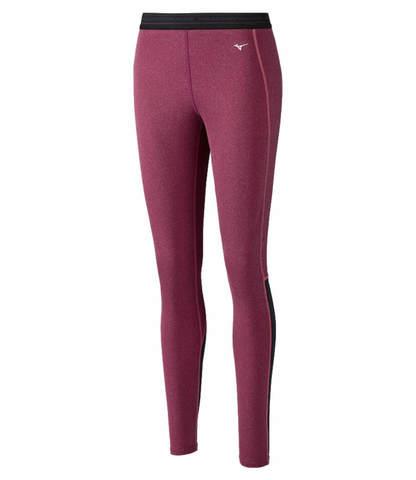 Mizuno Wool Long Tights термобелье кальсоны женские розовые