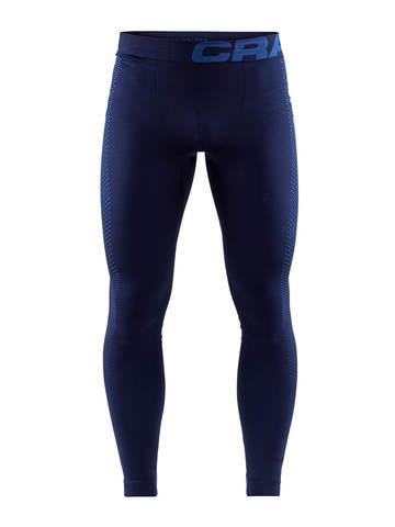 Craft Warm Intensity мужское термобелье рейтузы темно-синие