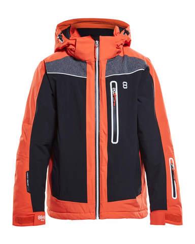 8848 Altitude Tuckett детская горнолыжная куртка red clay