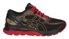 Asics Gel Nimbus 21 кроссовки для бега женские черные-красные