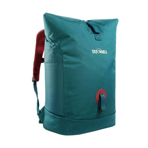 Tatonka Grip Rolltop Pack городской рюкзак teal green
