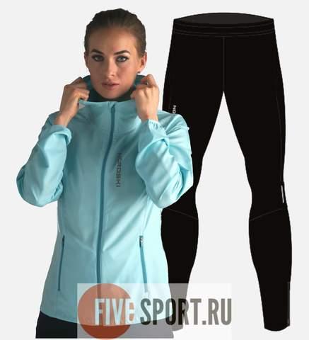 Nordski Run Premium беговой костюм женский Light Breeze-Black