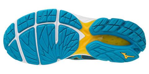 Mizuno Wave Rider 23 беговые кроссовки мужские синие-желтые