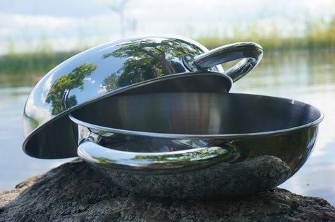 Tatonka Bowl With Grip S туристическая глубокая миска с ручкой