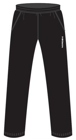 Nordski Jr Montana утепленные лыжные брюки детские black