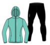 Nordski Run Premium беговой костюм женский Light Breeze-Black - 3
