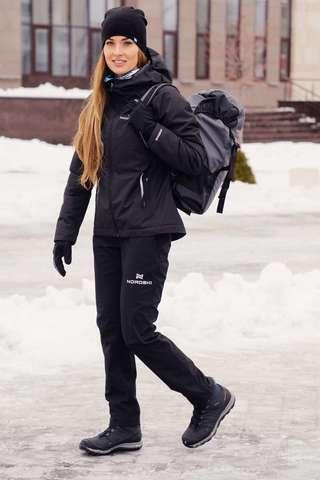 Nordski Urban утепленный костюм женский black