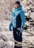 Теплый лыжный костюм мужской Nordski Base синий-темно-синий - 1
