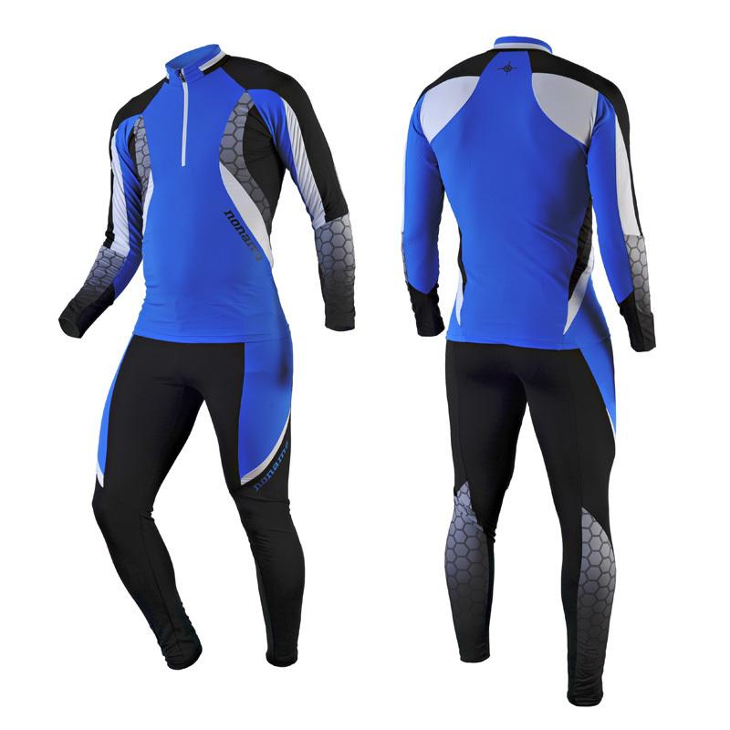 Лыжный комбинезон Noname Keep XC suit, blue-black