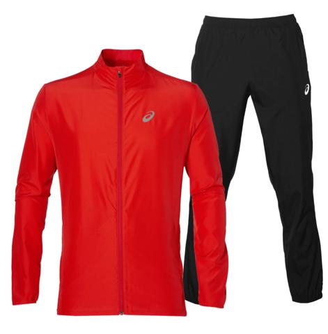 Asics Silver Woven мужской костюм для бега red