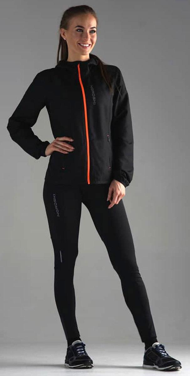 Nordski Premium лосины для бега женские Black - 5